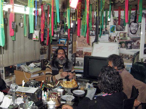دیدار اعضای روابط عمومی حفظ ارزش های ماندگار یاد جاوید با رضا ایرانمنش